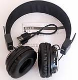 Беспроводные Bluetooth наушники Atlanfa AT-7611 Черные (300436), фото 4