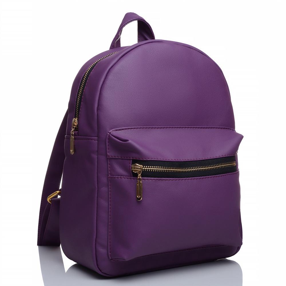 Жіночий рюкзак Sambag Брікс BSG Фіолетовий