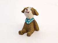 Фигурка Собака маленькая из керамики