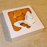 Подарочный набор круглых восковых чайных свечей 15г (9шт.) в коробке Красное Сердце, фото 2