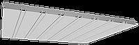 Реечный алюминиевый потолок Allux белый матовый комплект 200 см х 240 см