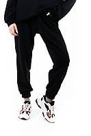 Спортивные штаны женские ОВЕРСАЙЗ весенние осенние летние черные | Брюки спортивные женские ТОП качества, фото 1