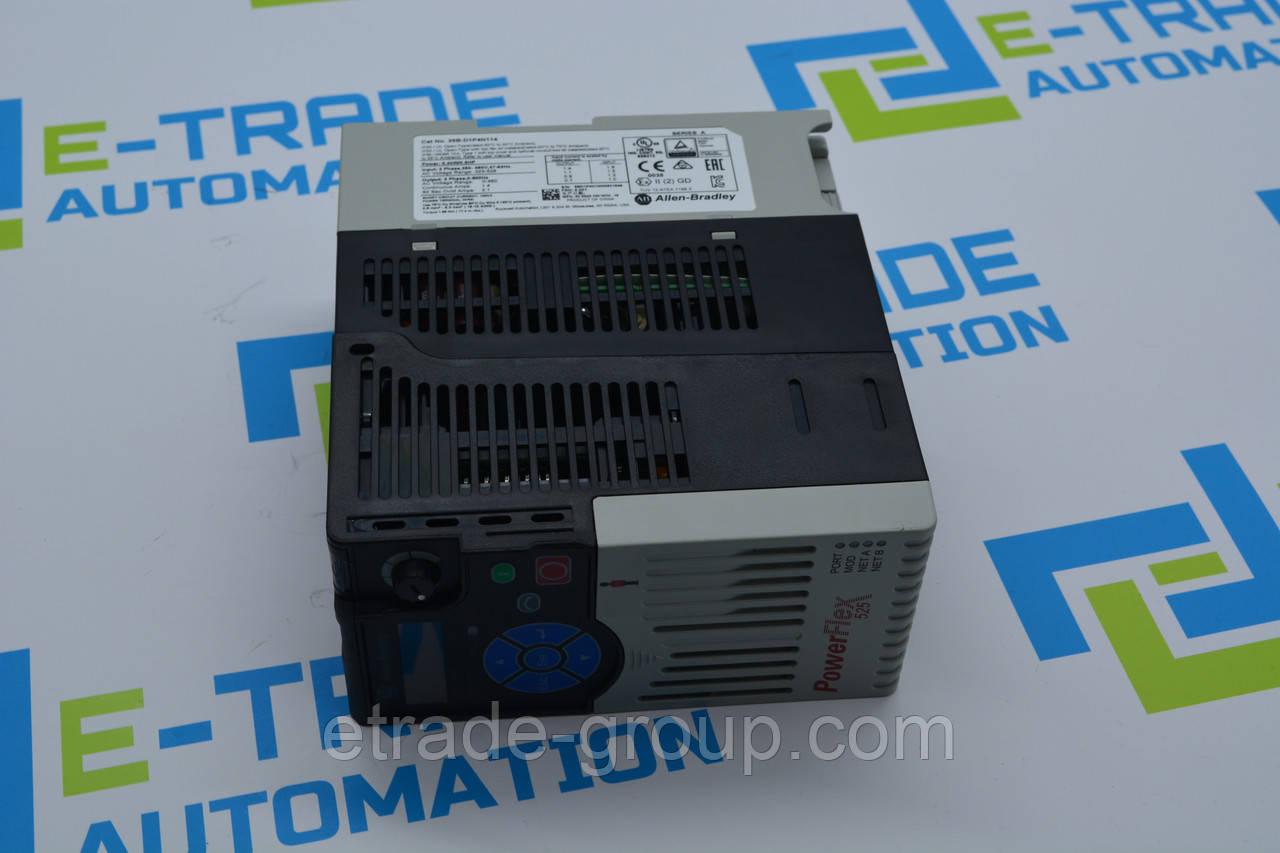 Перетворювач частоти Allen Bradley PowerFlex 525 25B-D2P3N104 500 Гц 480 В