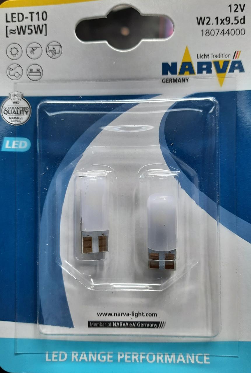Лампа Narva Range Power LED T10 (W5W) 12v