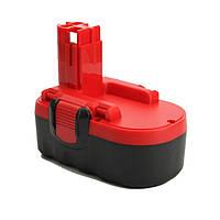 Аккумулятор для электроинструмента Bosch BAT025/BAT026/BAT180/BAT181 (Ni-Mh 18V 3.0Ah)