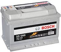Аккумулятор автомобильный Bosch S5 008 77Аh 780A 0092S50080