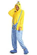 Кигуруми миньон (пижама, костюм детский, женский, мужской комбинезон)