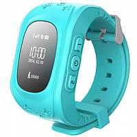 Умные Smart часы для детей с GPS трекером Baby Watch Q50 Бирюзовые