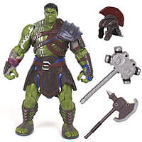 Реалистичная фигурка Халк-гладиатор Тор Рогнарек, 20 см - Hulk , Ragnarok, Marvel SKL14-150263