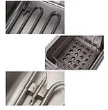 Фритюрница стальная профессиональная Rainberg настольная на 8 литров 3.2 кВт + термостат, фото 3