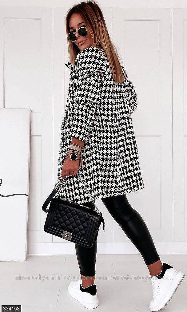 Пальто демисезонное женское размер 42, 44, 46, 48 арт 334158. (мш)
