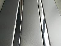 Реечный алюминиевый потолок Allux серебро металлик - хром зеркальный комплект 180 см х 200 см
