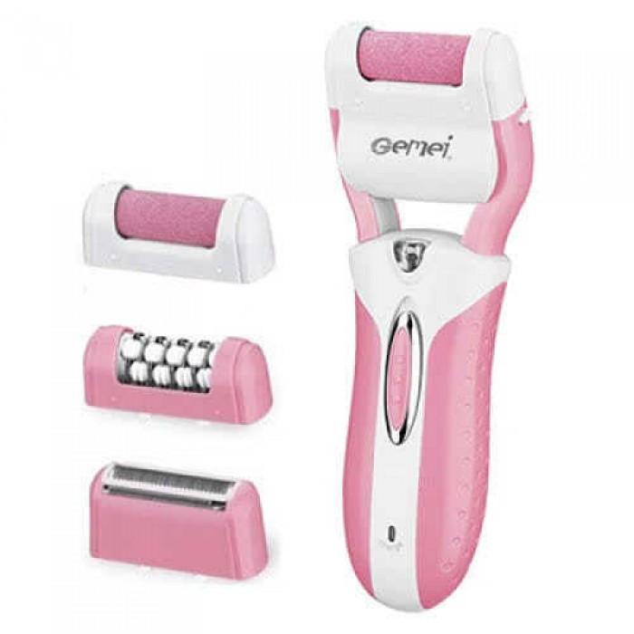 Эпилятор Gemei GM-3052 3в1 Розовый
