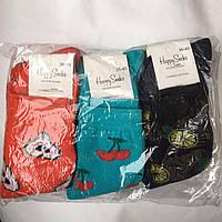 """Шкарпетки жіночі бавовняні Туреччина """"Happy Socks"""" 36-40"""