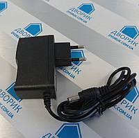 Блок питания 12Вт 12В 1А адаптер пластик розеточных в пластиковом корпусе, фото 1