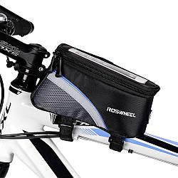 Сумка велосипедная под смартфон на раму Roswheel BAO-012 XL