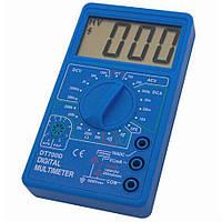 Мультиметр цифровой тестер токовые клещи вольтметр DT 700С, фото 1
