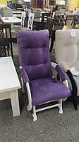 Крісло 1/3 глайдер 2 кат. багіра 11 парад пурпул/біле (Диванофф)
