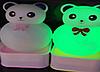 Силиконовый ночник Медведь Панда