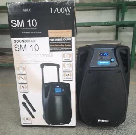 Мобильная автономная акустическая система SoundMax SM-10 | Портативные колонки