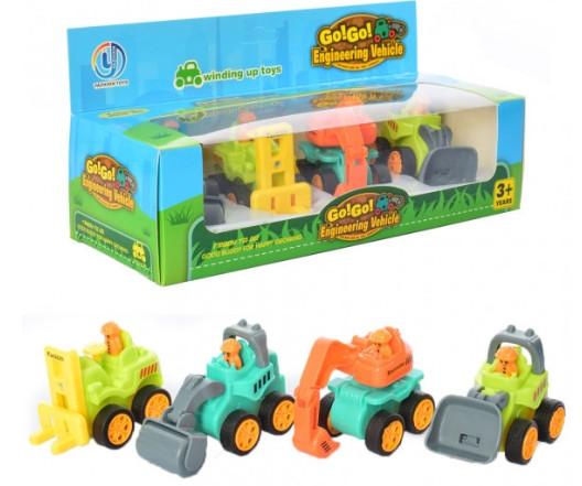 Дитячий ігровий набір «Будтехніка» інерційна