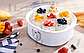 Йогуртниця DSP KA4010 побутова домашня електрична 1,5 л 7 скляних банок, фото 9