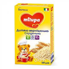 Дитяча вермішелька Milupa Серденька, 10+, 320г