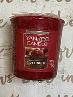 "Свеча ароматическая ""Сидр"" Yankee Candle"