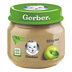 Пюре фруктове Gerber Яблуко, 6+, 80г