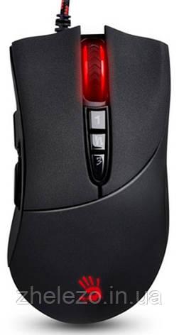 Миша A4Tech V3MA Bloody Black USB, фото 2