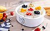 Йогуртница DSP KA4010 бытовая домашняя электрическая 1,5 л 7 стеклянных банок, фото 9
