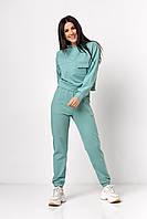 ✔️ Модный спортивный костюм женский с худи 42-48 размеры разные расцветки
