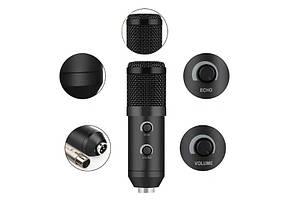 Мікрофон студійний M800U Чорний, фото 3