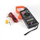 Мультиметр цифровой тестер токовые клещи вольтметр DT 266 С, фото 2