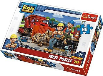 Пазл 60 Trefl Боб Будівельник / Bob the Builder