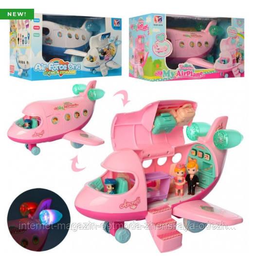 Музыкальная детская игрушка «Самолёт»