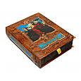"""Книга в кожаном переплете и подарочном коробе с тайником """"Мудрость тысячелетий"""", фото 5"""