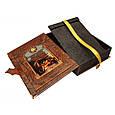 """Книга в шкіряній палітурці і подарунковому коробі з схованкою """"Мудрість тисячоліть"""", фото 2"""