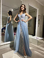 Сукня святкова блакитна