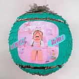 Пиньята roblox бумажная для праздника роблокс пиньята шар обхват 88-90см, фото 4