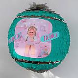 Пиньята roblox бумажная для праздника роблокс пиньята шар обхват 88-90см, фото 5