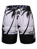 Чоловічі пляжні короткі шорти, фото 2