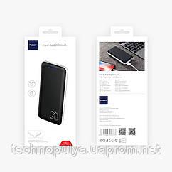 Портативное зарядное устройство Rock Power Bank 20000mAh Черный (687681870)