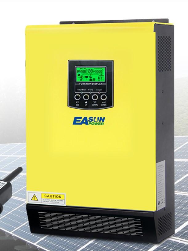 Гибридный солнечный инвертор IGrid VE 3K-48V (3 кВт, ИБП, MPPT контроллер 90А)