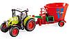 Іграшковий Трактор з Причепом