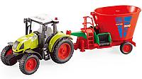 Іграшковий Трактор з Причепом, фото 1