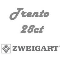 Рівномірна тканини Trento 28ct