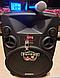 Портативная Аккумуляторная Акустика с микрофонами SL 12-14 | караоке спикер с видеомикрофоном-суфлером, фото 2