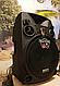 Портативная Аккумуляторная Акустика с микрофонами SL 12-14 | караоке спикер с видеомикрофоном-суфлером, фото 3