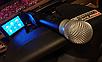 Портативная Аккумуляторная Акустика с микрофонами SL 12-14 | караоке спикер с видеомикрофоном-суфлером, фото 5